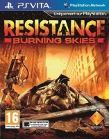 PS Vita Resistence Burning Skies