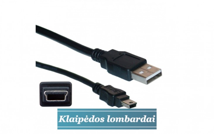 KABELIS USB - MINI USB