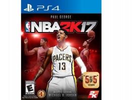 PS4 ŽAIDIMAS NBA2K17
