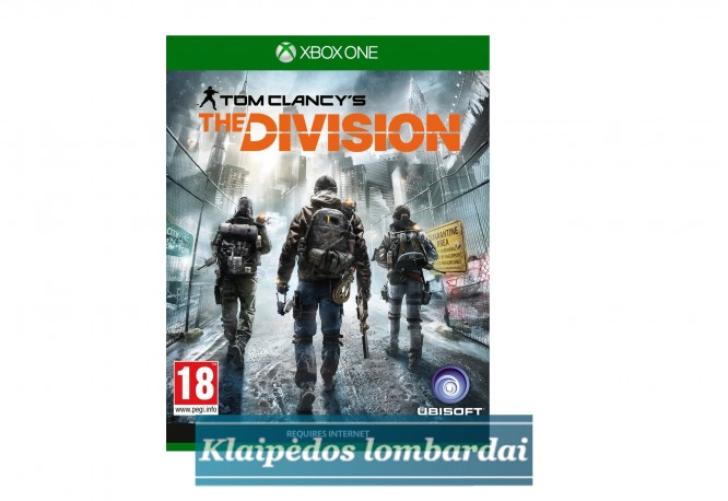 XBOX ONE ŽAIDIMAS Tom Clancy's The Division