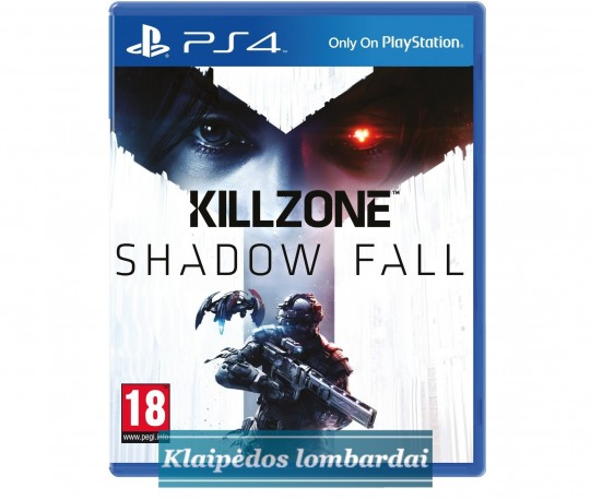 PS4 ŽAIDIMAS KILLZONE SHADOW FALL