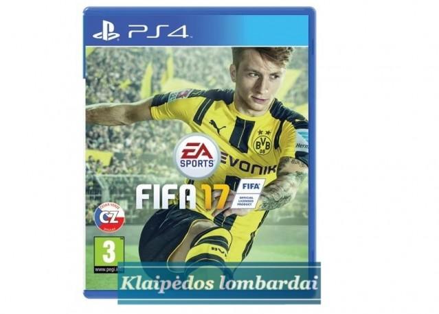 PS4 žaidimas FIFA 2017