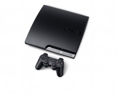 Atrištas Playstation 3 slim 250GB.