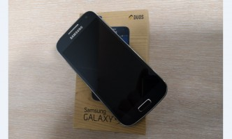 Samsung Galaxy S4mini black mis
