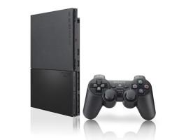ATRIŠTAS Sony PlayStation 2 Slim su ŽAIDIMAIS