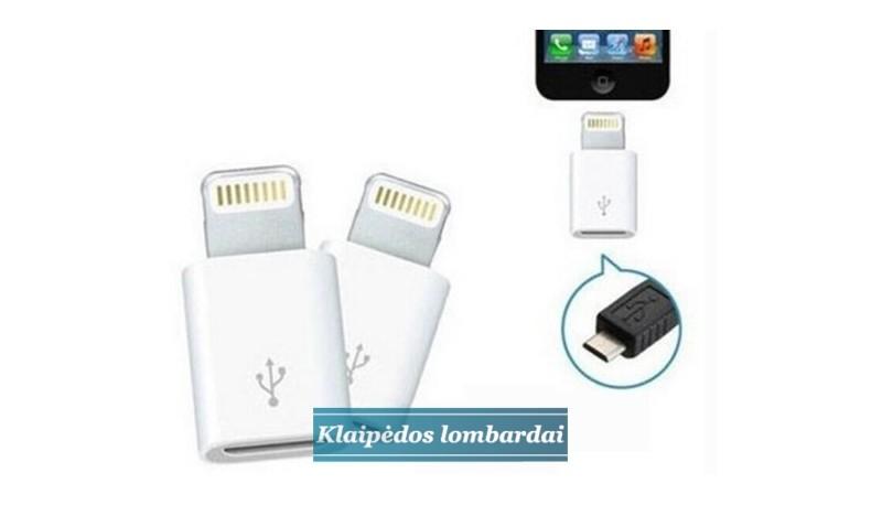 "Micro Usb adapteris-apple ""lightning"""