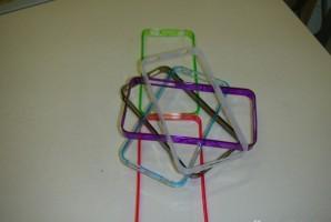 iPhone 4/4S dekliukai visuokių spalvų