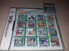 Nintendo 482 žaidimų Mario/SONIC .ir daug kitų.