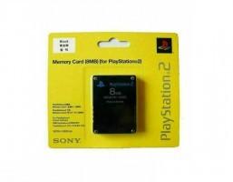 PlayStation 2 ATMINTES KORTELE 8MB