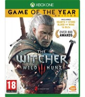XBOX ONE ŽAIDIMAS Witcher 3 Game Of The Year Edition