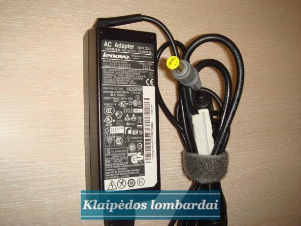 Originalus LENOVO Ikroviklis  20v 4,5a 90w