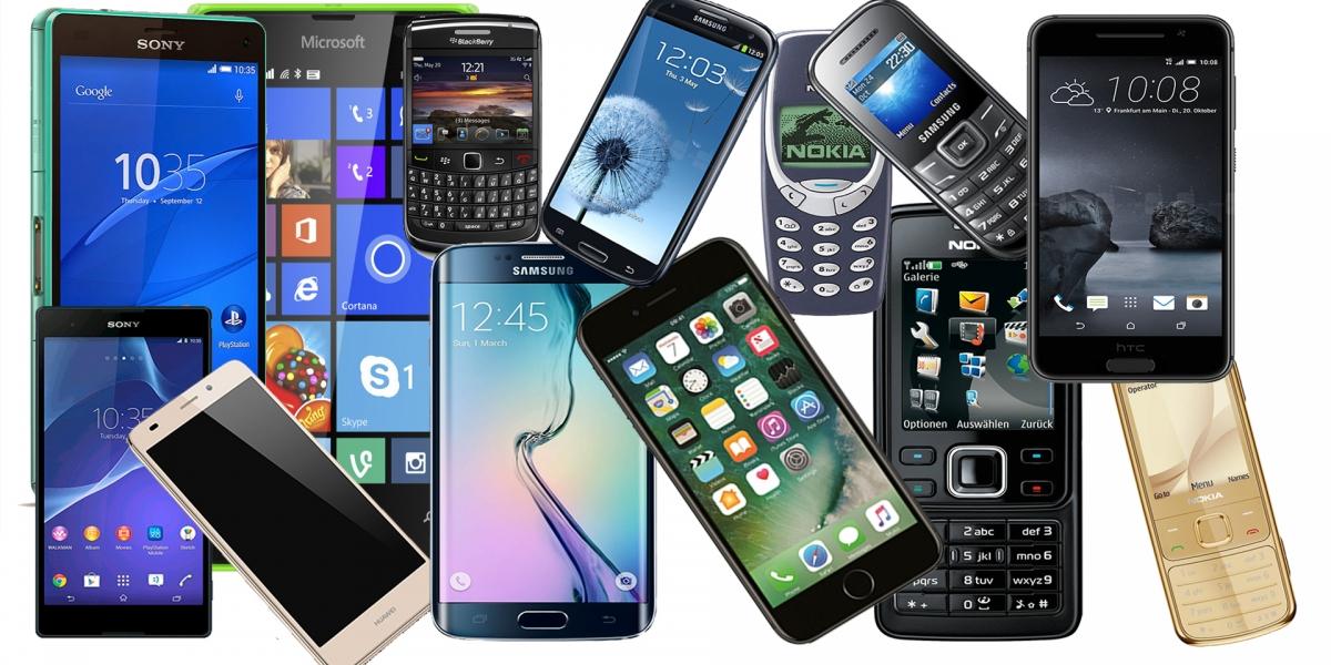 Priimame ivairių gamintojų mobiliuosius ir išmaniuosius telefonus